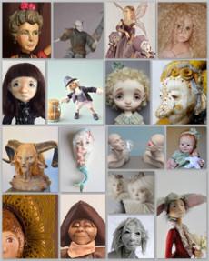 Originele poppenkunst als kunstvorm